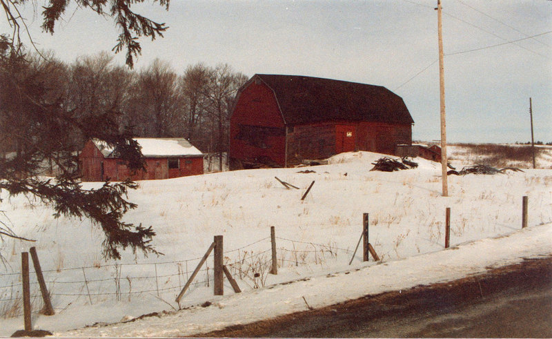 George L Peabody's Barns
