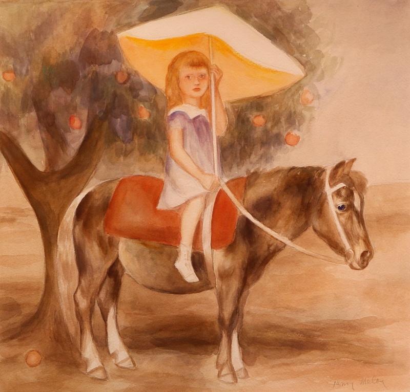 MeloyHenry - Girl and Pony.JPG
