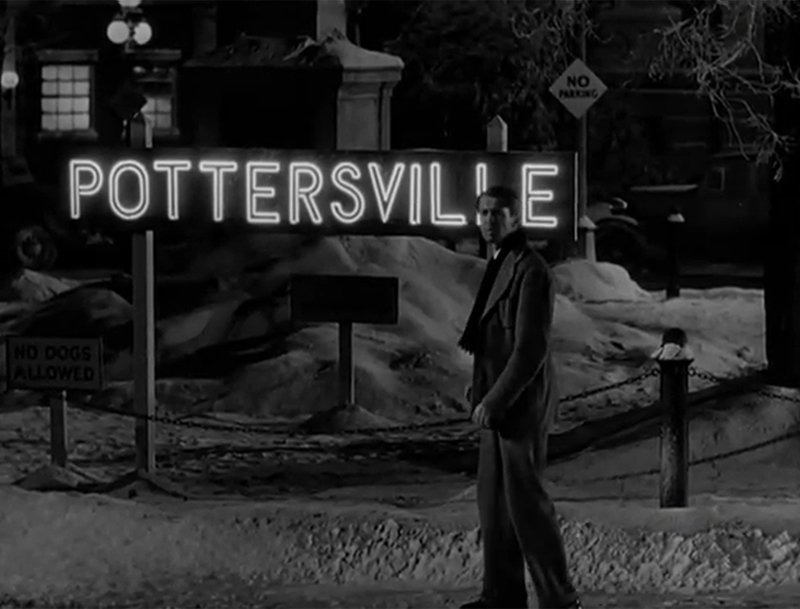Pottersville and Bedford Falls