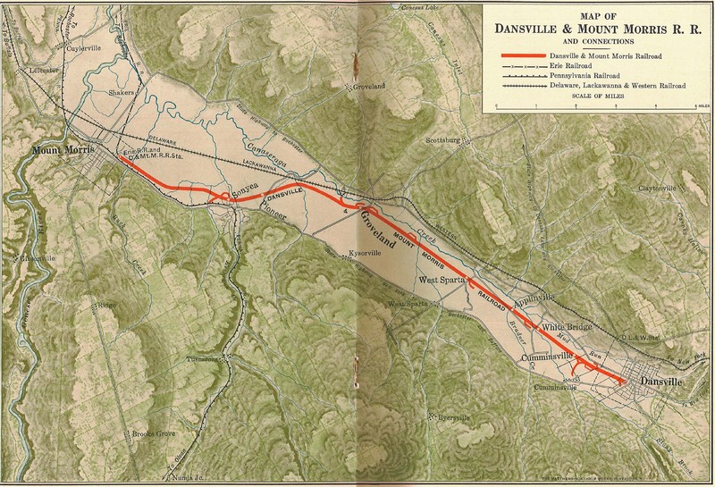 Dansville and Mount Morris Railroad, and Connecting Systems