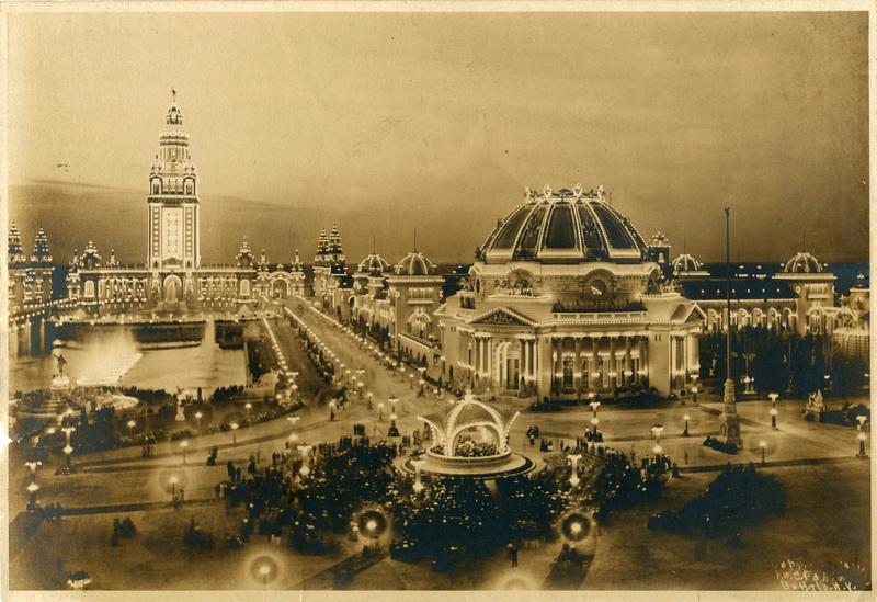 East Esplanade Bandstand, Pan-American Exposition of 1901