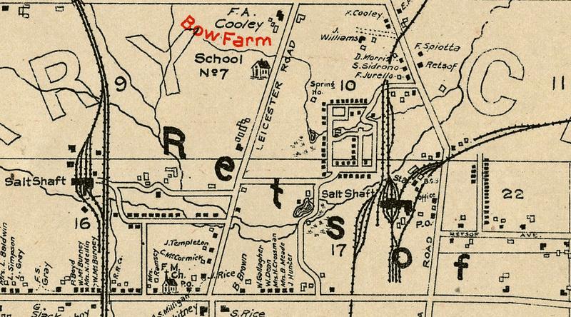 Map of Retsof, NY--1902