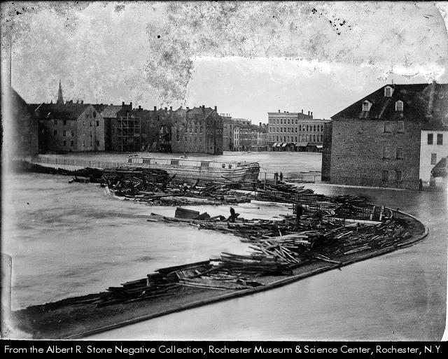 Flood 1865--Rochester
