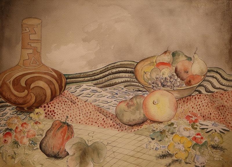 NagaiThomas - Still Life, Figured Cloth.JPG