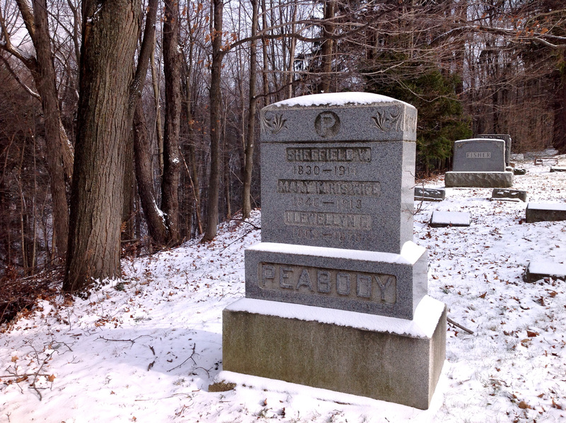 Sheffield Peabody gravestone