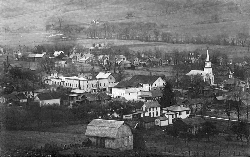 Village of Springwater, NY ca. 1912