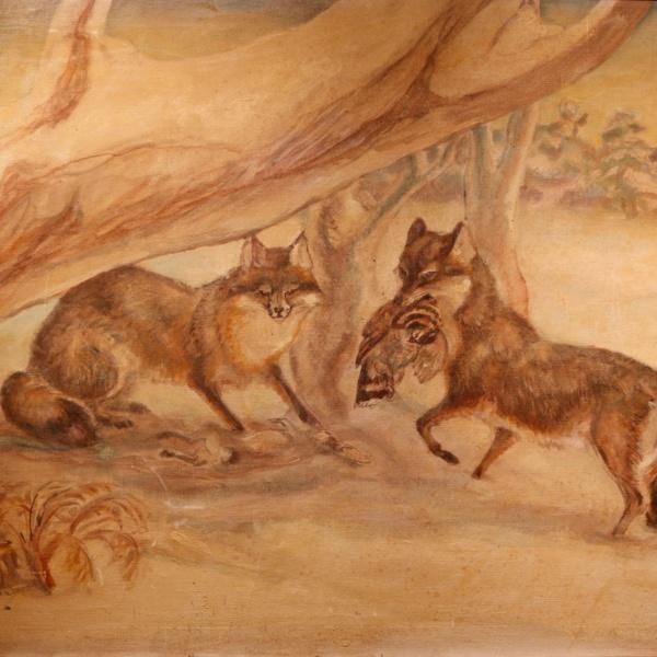 PalmerHerman - Two Foxes.JPG