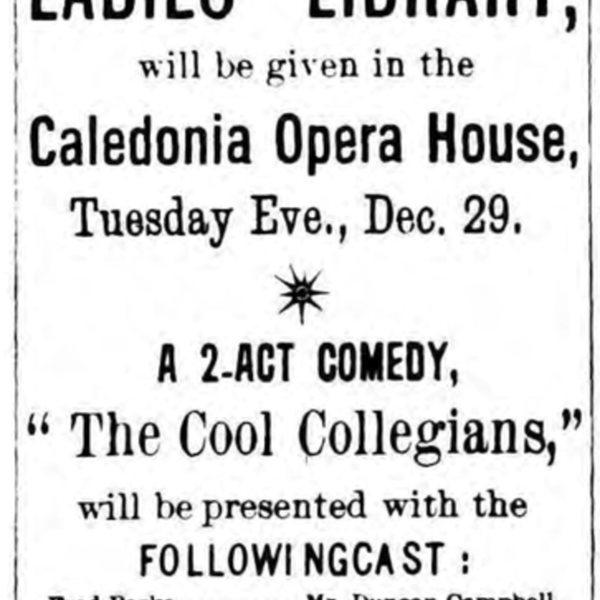 Caledonia Opera House