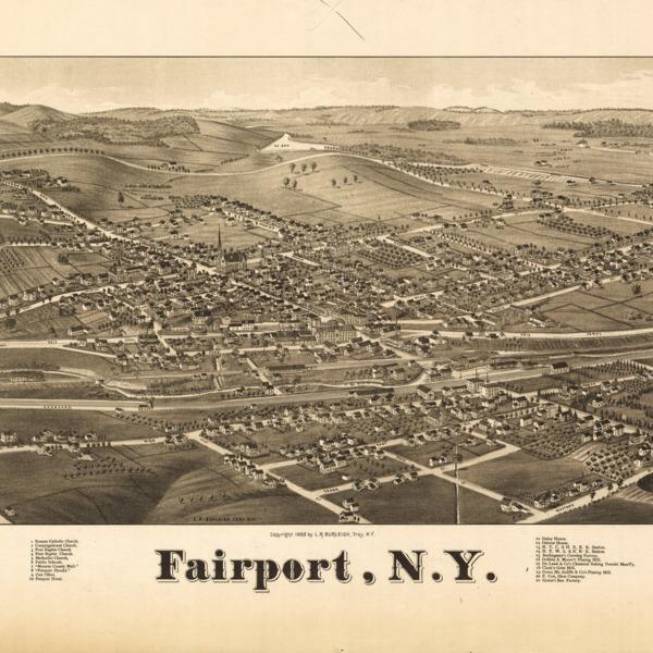 Fairport, NY, 1885