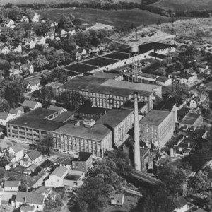 Aerial View of Perry Knitting Co.
