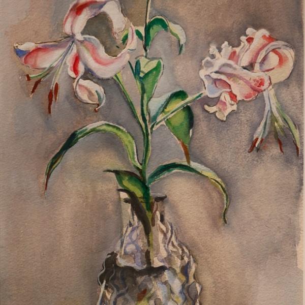 FrankBena - Lilies and Crystal.JPG