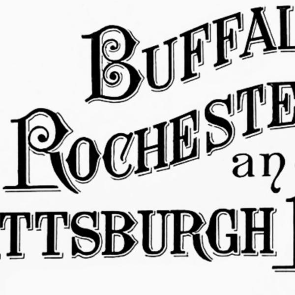 Buffalo, Rochester, and Pittsburgh Railway