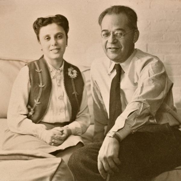 Bena Frank & Ralph Mayer ca 1935.jpg