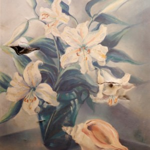 BowlerHarold - Lilies and Shell.jpg