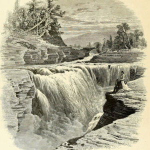 Lower Falls, Portage