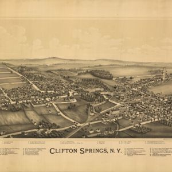Clifton Springs, NY, 1892