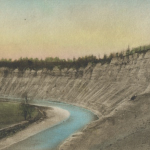 Postcard High Banks Letchworth State Park, New York.