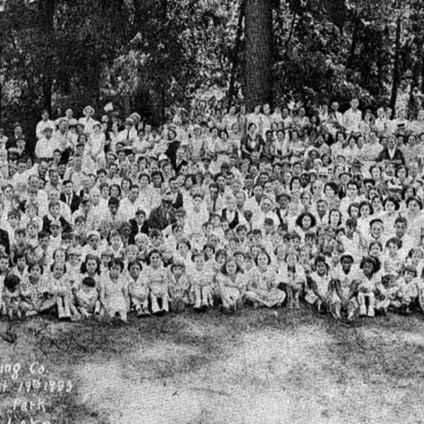 Retsof Company Picninc 1933