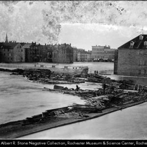 Flood 1865--Rochester