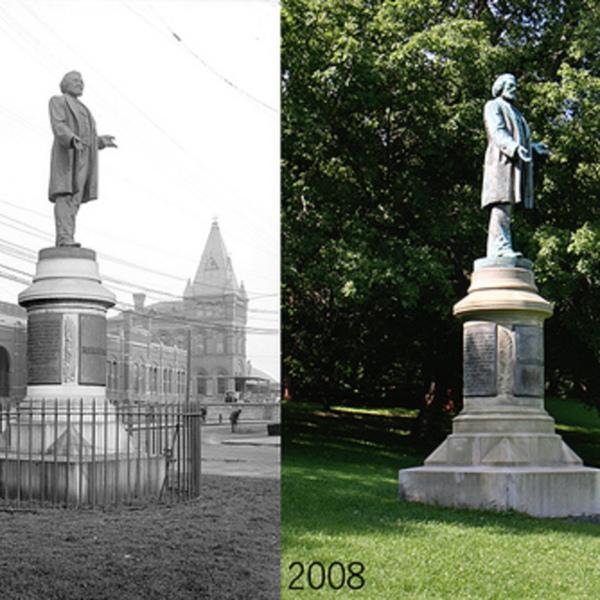 Frederick Douglass Rochester statue