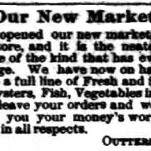 Outterson & Lee, Meat Market