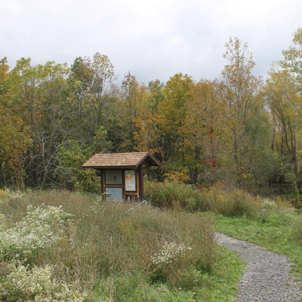 Indian Fort Nature Preserve Entrance
