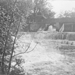 Paper Mill Falls, Conesus Creek, town of Avon, N.Y.