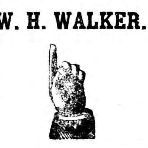 W.H. Walker, General Store